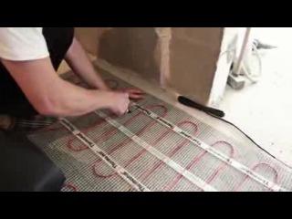 Укладка плитки. Инструкция по монтажу тёплого пола под плитку
