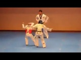 Прикол в теквондо. Funny Taekwondo Competition