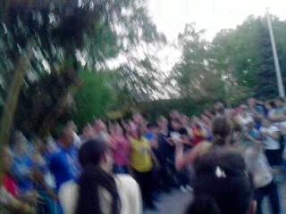 Капуэра в сквере Жукова 2013