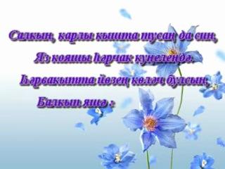 Поздравления ребенку на татарском языке