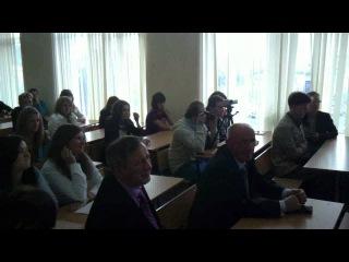СПИГ. Вручение студенческих билетов 1 сентября 2011 года