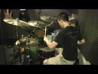 Meshuggah - Swarm (drum cover) by Wilfred Ho