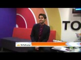 Darren Criss at the Today Show - Pre-interview clip