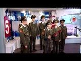 Хор русской армии -  Skyfall - Live Утро на 5| Russian Army sings Skyfall | Российские военные поют