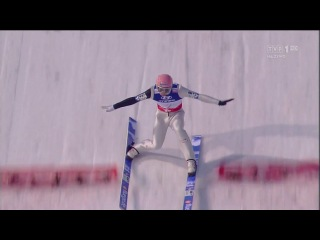 Manuel Fettner 02.03.2013 Teamspringen Gold Österreich