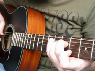 Кино (Виктор Цой) - Спокойная ночь (Игра на гитаре)
