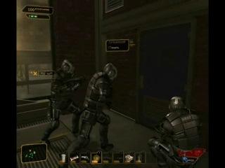 Румынский спецназ в действии Deus Ex HR
