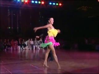 Чемпионат мира по спортивно бальным танцам 2008 ( Самба)