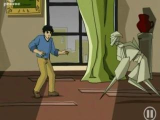 Джеки Чан. Сезон 2 (Порталы демонов) Серия 14(Оригами-бумажный человек)