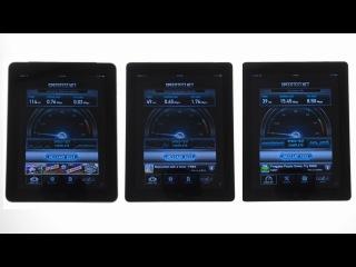 iPad 1 vs iPad 2 vs iPad 3: тест скорости соединения с Интернетом