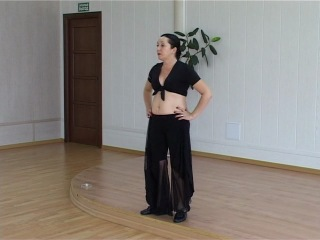 Восточный танец живота: Хагала и Феллахи [video-dance.ru]