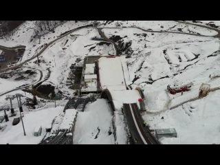 Чемпионат России по прыжкам на лыжах с трамплина - СОЧИ 2012