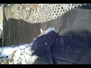 Взлом некитайской двери с использованием специнструмента.