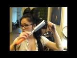 Бант из натуральные волос на заколках °•... Baby-doll-look