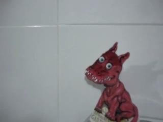 Это интересно. К новому году фигурка-иллюзия дракона Гаднера своими руками.