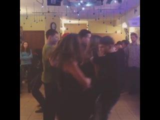 Квадратные танцы на Рождество #YouthObninsk
