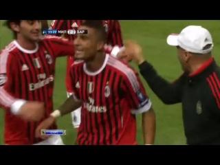 Милан - Барселона 23Финт и гол Боатенга