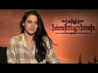 Роб говорит о сценах секса в интервью для NBC Miami (пресс-конф. фильма Рассвет. Часть 1 в ЛА)