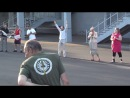 Молитва на территории фан-зоны донецкого стадиона «Шахтер» 13 июня