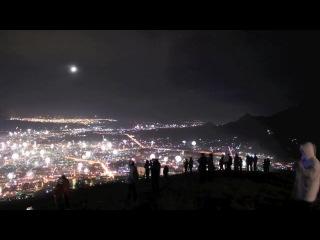 Пятигорск. Новый Год 2012. Вид с горы Машук