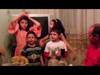 Дети поют))) трек Shamso - Случайная встреча)))