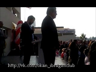 Клятва первокурсника. Окан Ялабык в колледже Богазичи (Измир, 29 октября 2013)