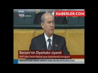 Bahceli, Türkiye Devleti teröristtir dedi ve Imraliyi selamladi