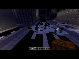 как лепить снежную бабу в minecraft