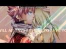«Со стены ☜♡☞ Natsu and Lucy|Нацу и Люси|NaLu|НаЛю☜♡☞» под музыку G.R.E.Y. feat Макс ТТ - береги её, бериги любовь. Picrolla