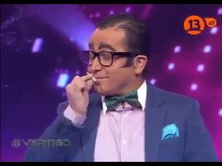 yerko puchento hablando en canal 13 y fumando marihuana
