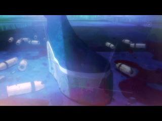 Black Rock Shooter / Стрелок с Черной скалы (8 серия) озвучка Eladiel & Absurd & Silv