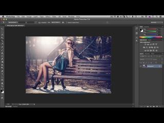 Уроки фотошопа - Урок №1: Знакомство с интерфейсом фотошопа