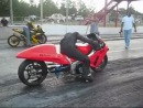 Hayabusa drag crash death
