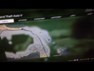 Призрак в GTA 5 и Мерцал решил спрыгнуть с горы :D
