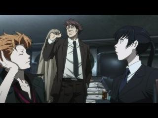 Psycho-pass / Психопаспорт 2 серия [Inspector Gadjet & Shina]