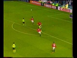 Лига чемпионов 1996 1997 1 2 финала Манчестер Юнайтед Боруссия 2 тайм