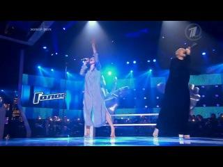 Наргиз Закирова и Анна Александрова Замок из дождя HD Голос на Первом