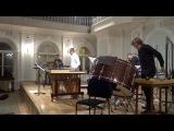 Небойша Йован Живкович Lamento e danza Barbara for Marimba & 3 Percussionists