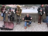 Best Street Jazz, bridge in Praha , Czech Republiс