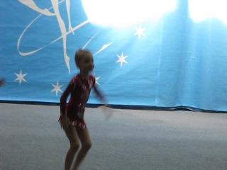 Яся. Соревнования по гимнастике.14.04.2012