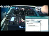 NUMARK MIXDECK DEMO TUTORIAL CD-AUDIO-MP3-USB-iPod-PLAYER-MIDI CONTROLLER BY ALARMUSIC.COM_xvid
