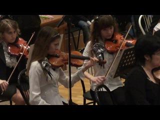 Выступление сосновоборского симфонического оркестра. П. Масканьи -
