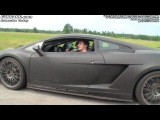 Underground Racing Gallardo 1500 RWHP vs AG Nissan GT-R 851 HP on E85-fuel