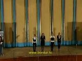 Эксклюзив. Юля, Аня, Наташа и Аня поют песню