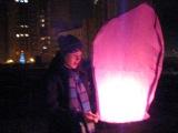 Новый год 2012, китайский фонарики, Юбилейный квартал