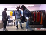 Les Twins + Bobby Mileage @ Rocawear Offices NYC - Clip 2