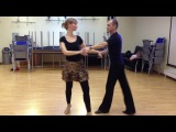 Artem Nekrasov studio - cha cha basic routine 1