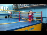 Кикбоксинг финальный бой(2 место)
