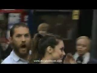 Том Харди и Шарлотта Райли на премьере фильма