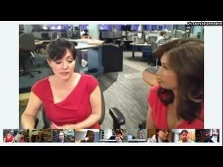 Шеннен Доэрти в чате Myfox11 Google с Марией Кьюбэнгр 16 апреля 2012